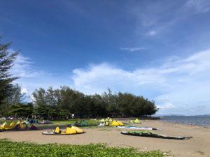 Rayong kiteboarding
